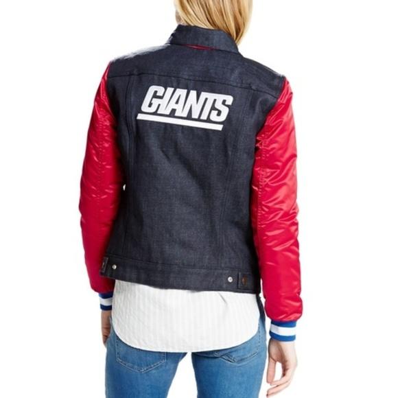 best website 8dbf9 a39bf Levi's NFL New York Giants Jacket Women's NWT